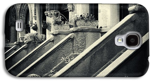 Landmarks Photographs Galaxy S4 Cases - Brooklyn Park Slope Stoops Galaxy S4 Case by Sabine Jacobs