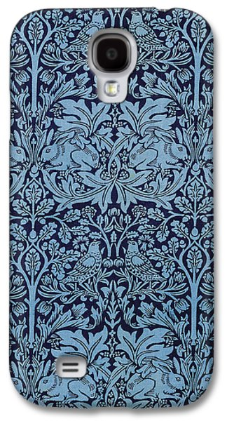 Food And Beverage Tapestries - Textiles Galaxy S4 Cases - Brother Rabbit Galaxy S4 Case by William Morris