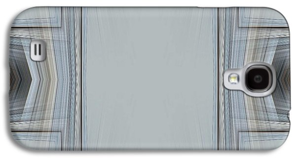 Nature Abstract Galaxy S4 Cases - Brown and Grey Tones of Eucalyptus 3 Galaxy S4 Case by Tracey Harrington-Simpson
