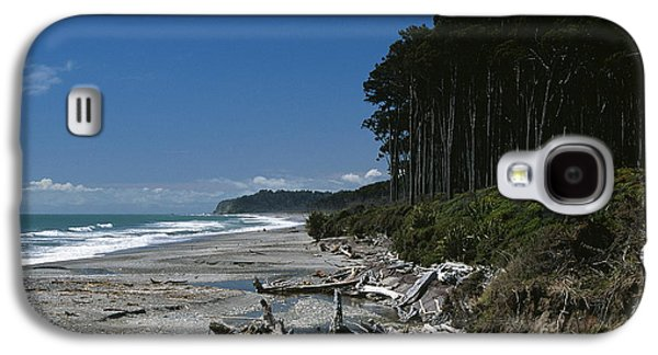 Aotearoa Galaxy S4 Cases - Bruce Bay Galaxy S4 Case by Chris Selby