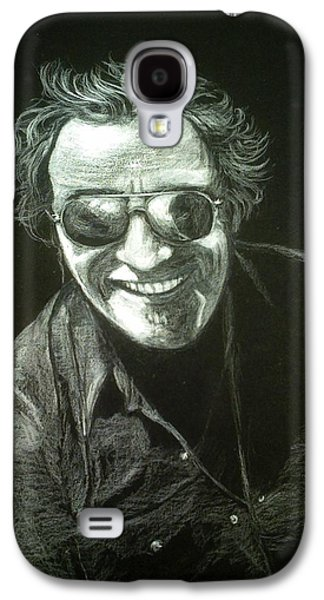 Bruce Springsteen Drawings Galaxy S4 Cases - Bruce Galaxy S4 Case by Celia Teichman