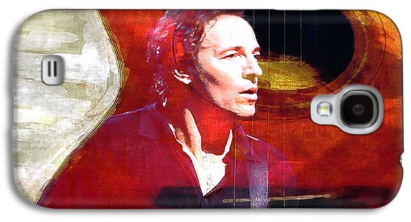 Bruce Springsteen Photographs Galaxy S4 Cases - Bruce Galaxy S4 Case by John Delong