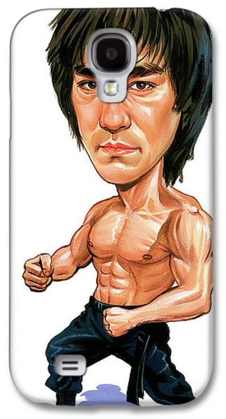 Bruce Lee Galaxy S4 Case by Art