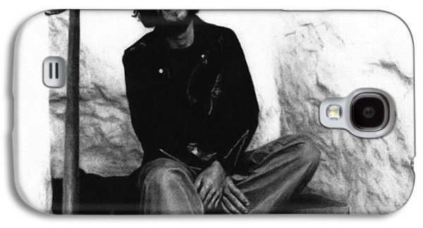 Bruce Springsteen Drawings Galaxy S4 Cases - Bruce Springsteen 1975 Galaxy S4 Case by Justin Clark
