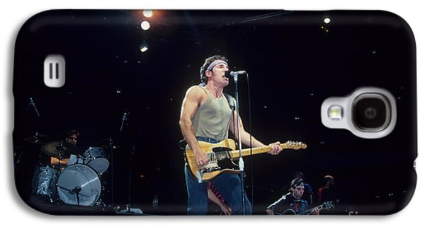 Bruce Springsteen Photographs Galaxy S4 Cases - Bruce Springsteen and The E Street Band Galaxy S4 Case by Rich Fuscia