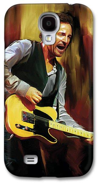 Bruce Springsteen Artwork Galaxy S4 Case by Sheraz A