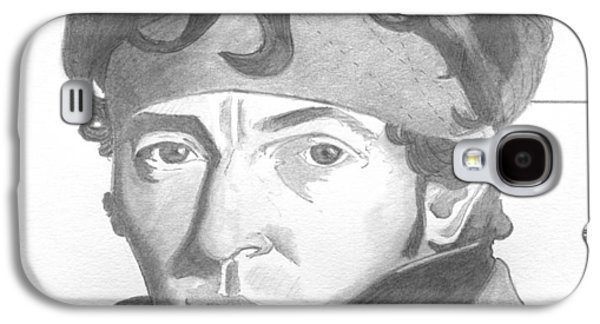 Bruce Springsteen Drawings Galaxy S4 Cases - Bruce Springsteen Galaxy S4 Case by Brian Condron