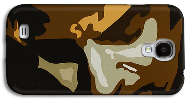 Bruce Springsteen Paintings Galaxy S4 Cases - Bruce springsteen Galaxy S4 Case by Dennis Nadeau