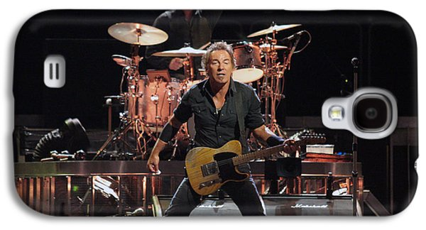 Bruce Springsteen Photographs Galaxy S4 Cases - Bruce Springsteen in Concert Galaxy S4 Case by Nomad Art And  Design