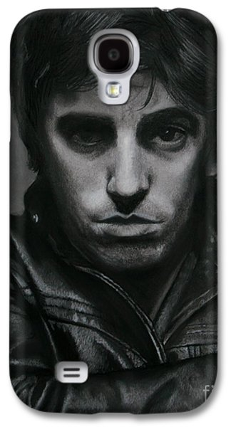Bruce Springsteen Drawings Galaxy S4 Cases - Bruce Springsteen Galaxy S4 Case by Riane Cook
