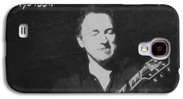 Bruce Springsteen Mixed Media Galaxy S4 Cases - Bruce Springsteen The Boss Galaxy S4 Case by Dan Sproul