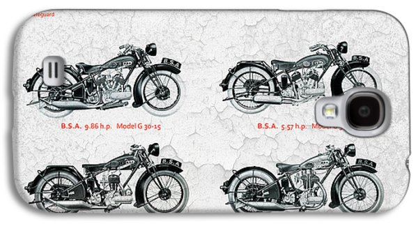 Recently Sold -  - Transportation Photographs Galaxy S4 Cases - BSA Motor Cycles for 1930 Galaxy S4 Case by Mark Rogan