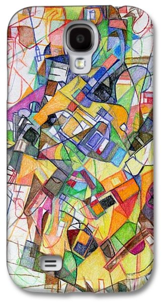 Inner Self Galaxy S4 Cases - bSeter Elyion 20 Galaxy S4 Case by David Baruch Wolk