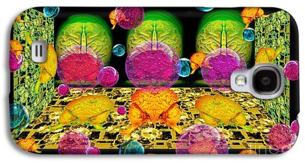 Photo Manipulation Paintings Galaxy S4 Cases - Timeless Memory Galaxy S4 Case by Dariush Alipanah- Jahroudi