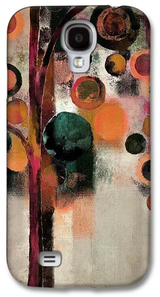 Right Side Galaxy S4 Cases - Bubble Tree - j08688b Galaxy S4 Case by Variance Collections