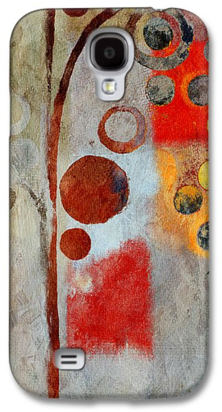 Nature Abstract Paintings Galaxy S4 Cases - Bubble Tree - Ls55 Galaxy S4 Case by Variance Collections