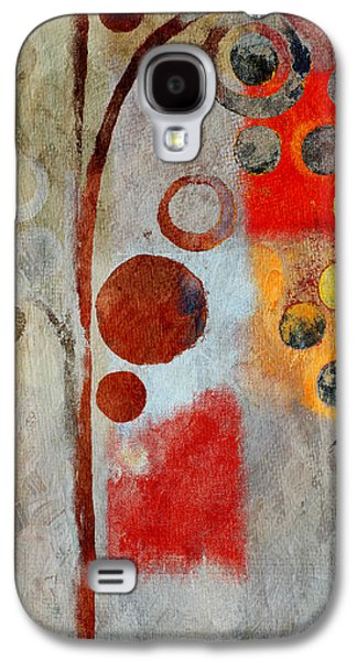 Abstract Realism Galaxy S4 Cases - Bubble Tree - Ls55 Galaxy S4 Case by Variance Collections