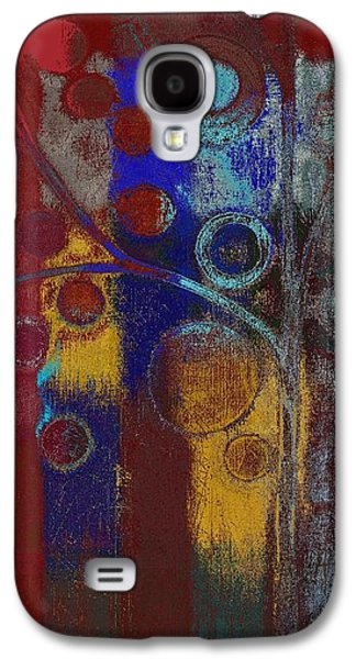 Right Side Galaxy S4 Cases - Bubble Tree - Rd01l Galaxy S4 Case by Variance Collections