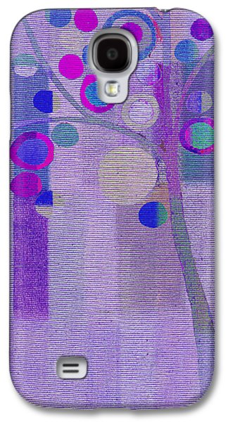 Right Side Galaxy S4 Cases - Bubble Tree - s85rc03 Galaxy S4 Case by Variance Collections