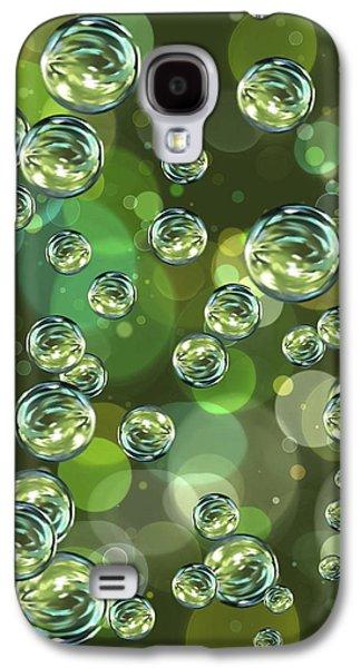 Bubbles Galaxy S4 Cases - Bubbles Galaxy S4 Case by Veronica Minozzi