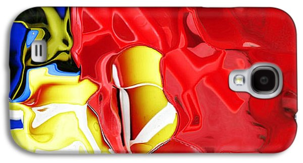 Abstract Forms Galaxy S4 Cases - Bucket and spade Galaxy S4 Case by Carol Lynch