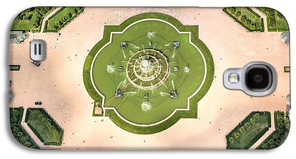 Abstract Fountain Galaxy S4 Cases - Buckingham Fountain  Aerial Galaxy S4 Case by Adam Romanowicz