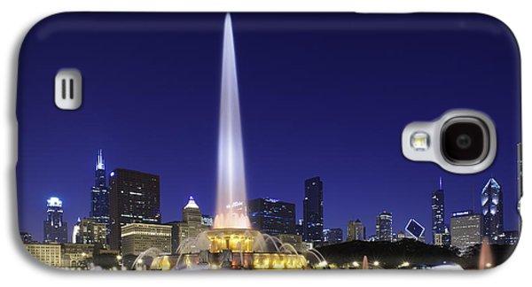 Buckingham Fountain Galaxy S4 Case by Sebastian Musial