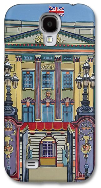 Duchess Of Cambridge Galaxy S4 Cases - Buckingham Palace Galaxy S4 Case by Nicky Leigh