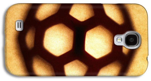 Brown Tones Galaxy S4 Cases - Buckyball Galaxy S4 Case by Tony Cordoza