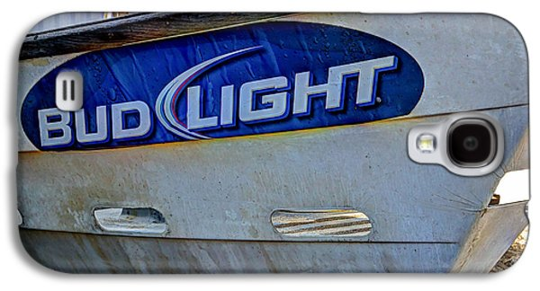 Fixing Galaxy S4 Cases - Bud Light Dory Boat Galaxy S4 Case by Heidi Smith