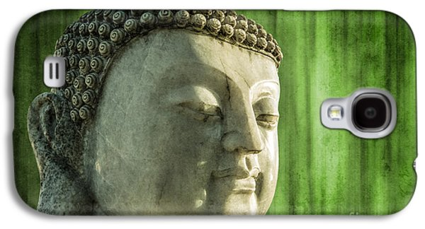 Statue Portrait Galaxy S4 Cases - Buddha - bamboo Galaxy S4 Case by Hannes Cmarits