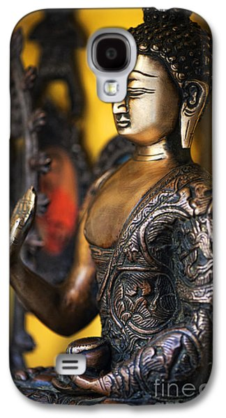 Medicine Photographs Galaxy S4 Cases - Buddha Blessings Galaxy S4 Case by Tim Gainey