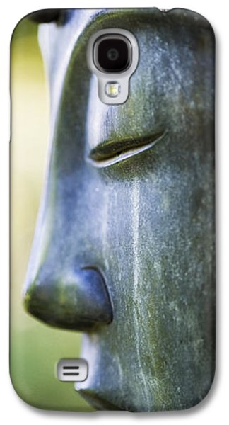 Religious Galaxy S4 Cases - Buddha Face Galaxy S4 Case by Tim Gainey