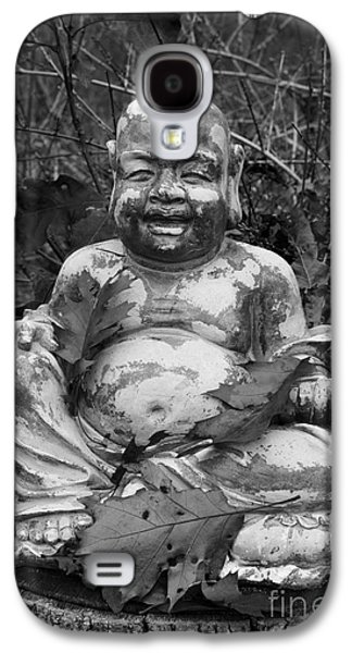 Contemplative Photographs Galaxy S4 Cases - Buddha III BW Galaxy S4 Case by David Gordon