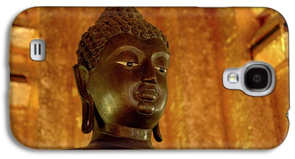 Recently Sold -  - Ancient Galaxy S4 Cases - Buddha In Black Galaxy S4 Case by Bob Christopher