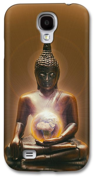 Ancient Galaxy S4 Cases - Protecting Earth Galaxy S4 Case by Wim Lanclus