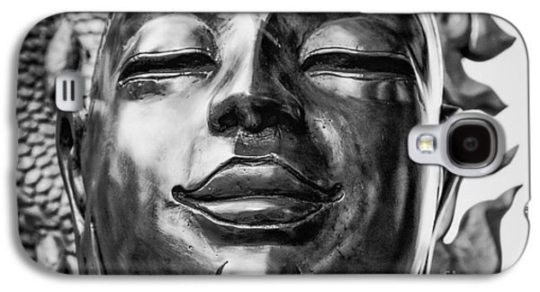 Contemplative Photographs Galaxy S4 Cases - Buddha Smile Galaxy S4 Case by Dean Harte