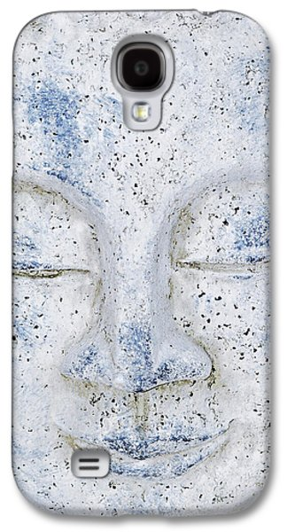Statue Portrait Mixed Media Galaxy S4 Cases - Buddha statue  Galaxy S4 Case by Toppart Sweden