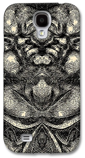 Abstract Digital Art Galaxy S4 Cases - Buddha Vase Galaxy S4 Case by Christopher Krieger