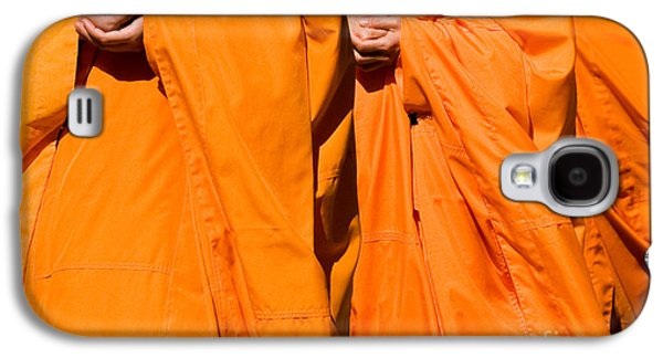 Buddhist Monk Galaxy S4 Cases - Buddhist Monks 02 Galaxy S4 Case by Rick Piper Photography