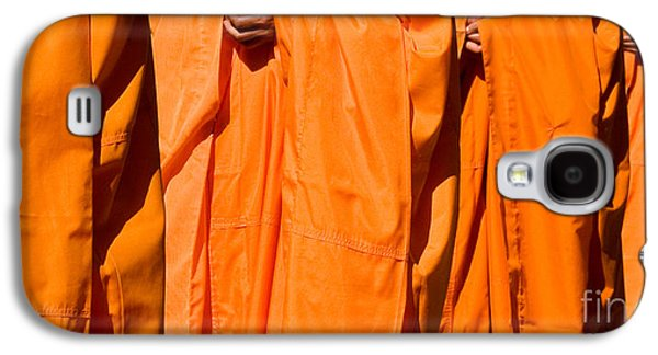 Buddhist Monk Galaxy S4 Cases - Buddhist Monks 03 Galaxy S4 Case by Rick Piper Photography