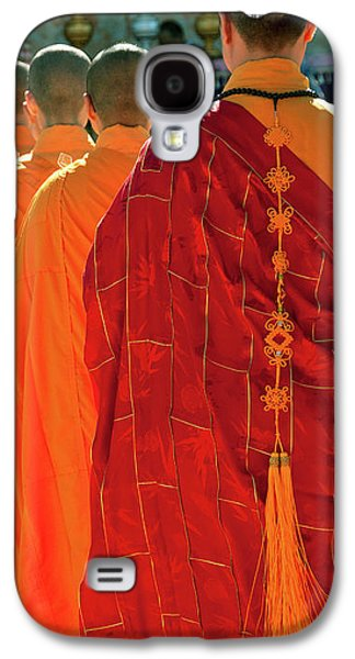Buddhist Monk Galaxy S4 Cases - Buddhist Monks Galaxy S4 Case by Rick Piper Photography