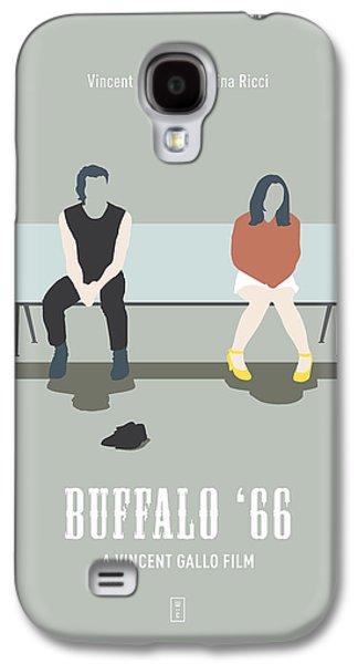 Buffalo Art Digital Art Galaxy S4 Cases - Buffalo 66 Galaxy S4 Case by Smile In The  Mind