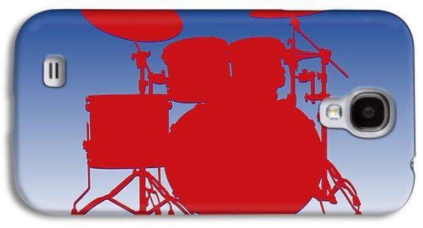 Buffalo Bills Drum Set Galaxy S4 Case by Joe Hamilton
