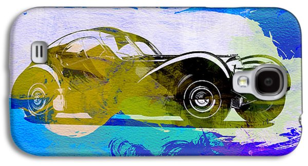 Concept Photographs Galaxy S4 Cases - Bugatti Atlantic Watercolor 2 Galaxy S4 Case by Naxart Studio