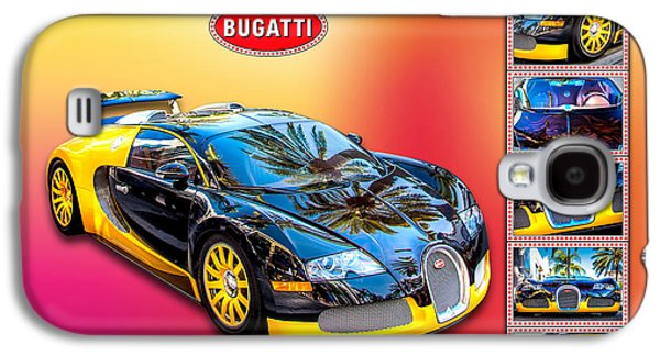 Fantasy Photographs Galaxy S4 Cases - Bugatti - Dream Car Galaxy S4 Case by Az Jackson