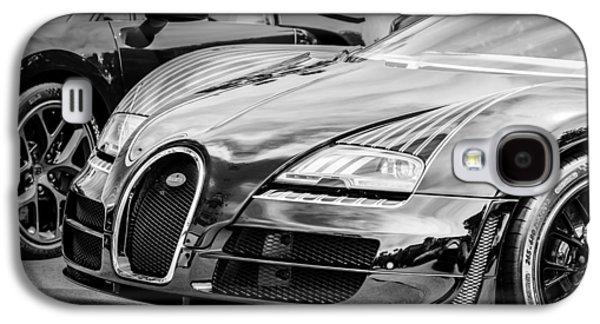 Edition Galaxy S4 Cases - Bugatti Legend - Veyron Special Edition -0845bw Galaxy S4 Case by Jill Reger