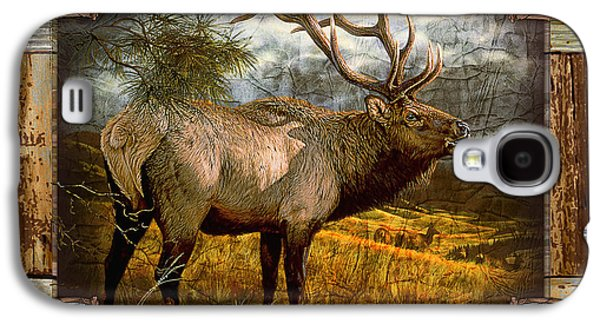 Bugling Elk Galaxy S4 Case by JQ Licensing