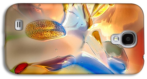 Bright Colors Glass Art Galaxy S4 Cases - Bugs on Parade Galaxy S4 Case by Omaste Witkowski