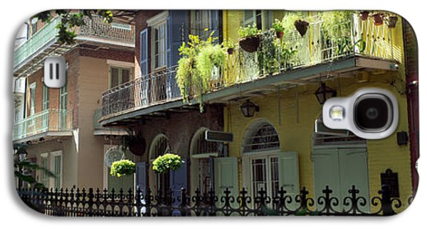 Louisiana Photographs Galaxy S4 Cases - Buildings Along The Alley, Pirates Galaxy S4 Case by Panoramic Images